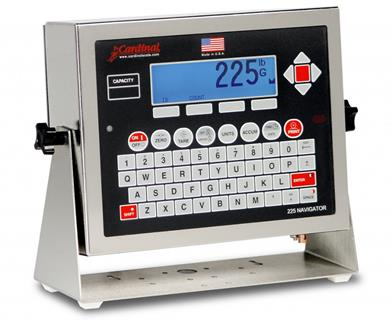 weighbridge indicator system