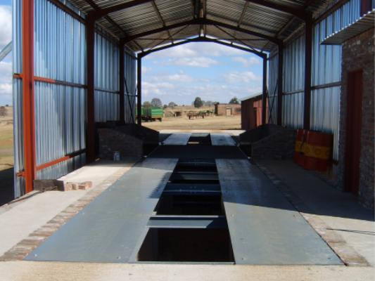 Weighbridge on a farm