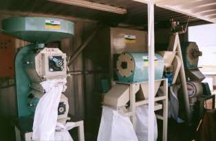 Containerized Maize Mill. Milling machine. Grain Milling
