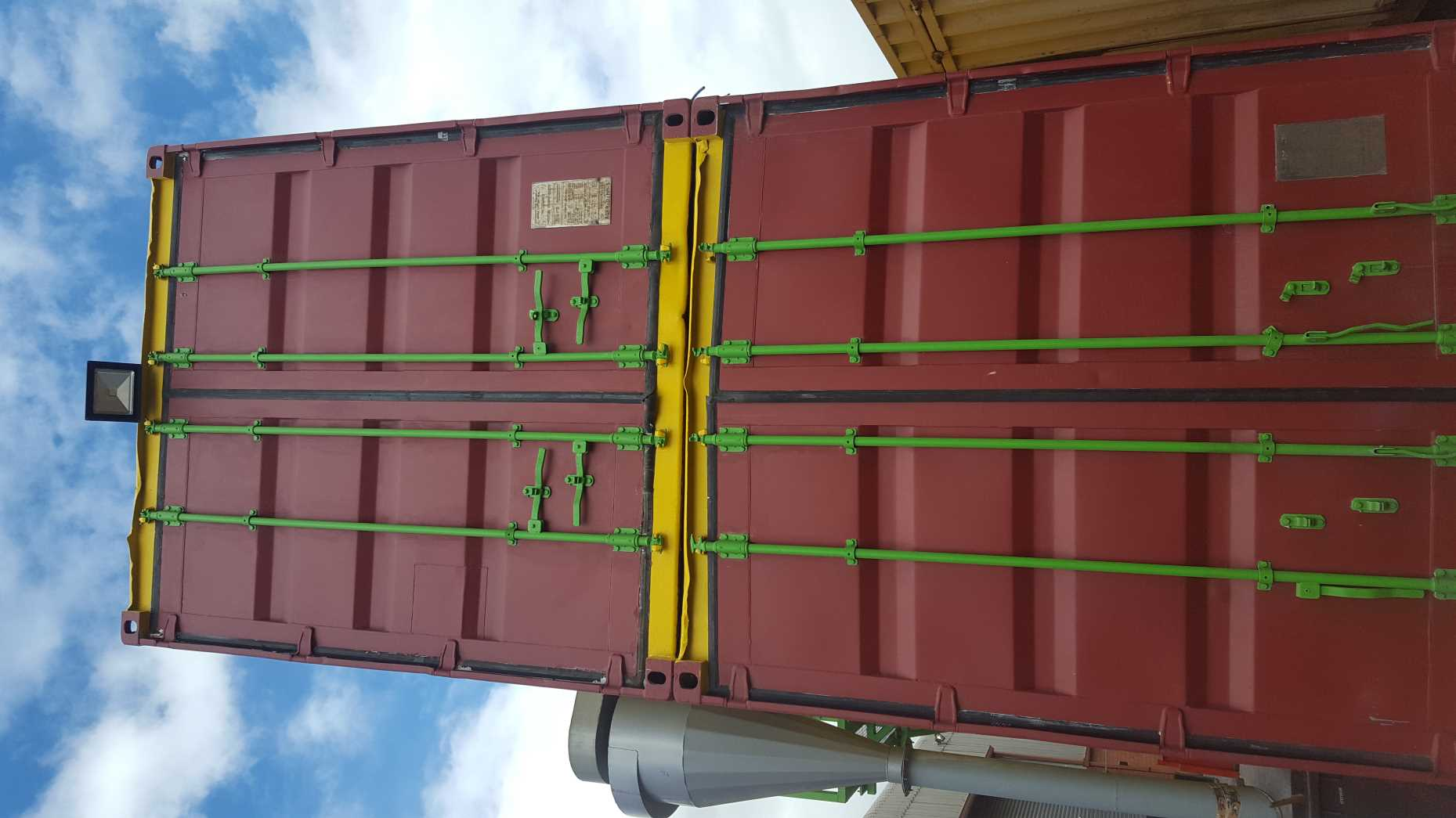 3 Phase Generator >> Containerized Maize Mill - By ABC Hansen Africa